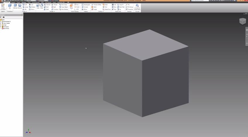 2014-06-08 20_46_46-Autodesk Inventor Basics & Extrusions Tutorial - YouTube