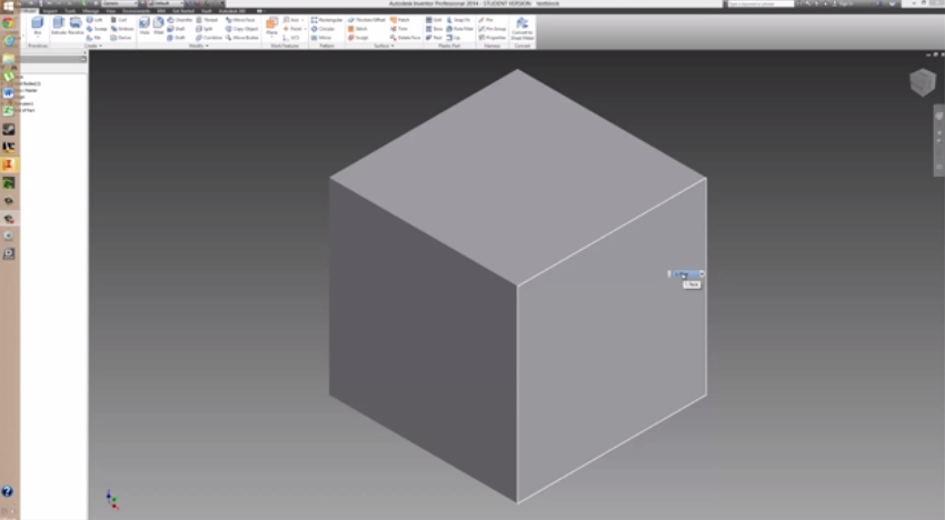 2014-06-15 19_48_17-Autodesk Inventor How To Make Holes And Extrusions Tutorial - YouTube