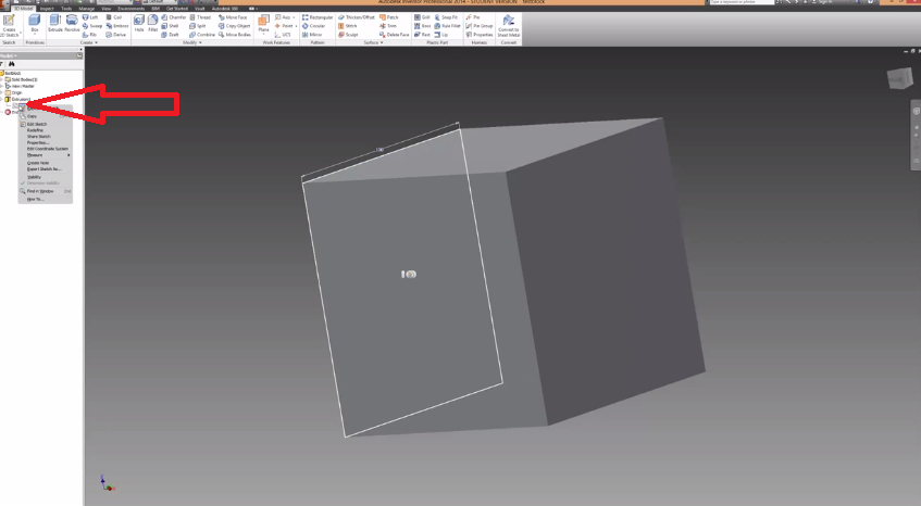2014-06-15 19_51_23-Autodesk Inventor How To Make Holes And Extrusions Tutorial - YouTube