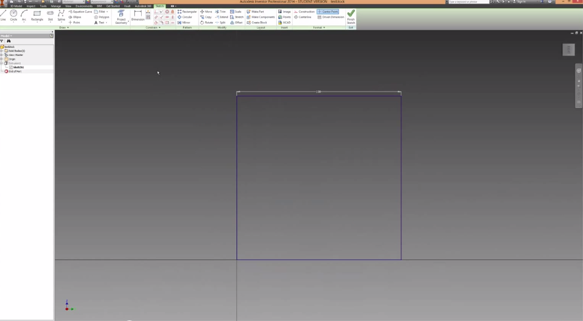 2014-06-15 19_51_58-Autodesk Inventor How To Make Holes And Extrusions Tutorial - YouTube