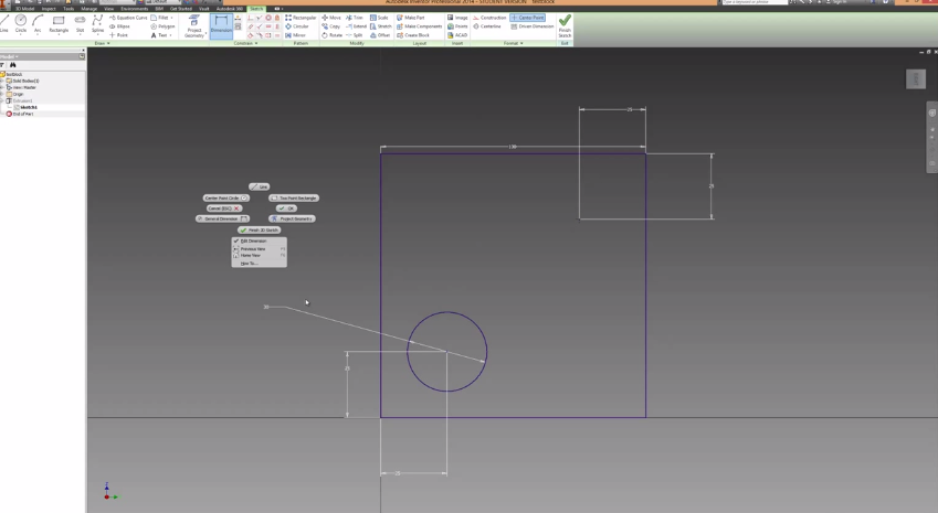 2014-06-15 19_53_34-Autodesk Inventor How To Make Holes And Extrusions Tutorial - YouTube