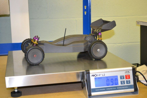 3D Printed Carbon Fibre Remote Controlled Car