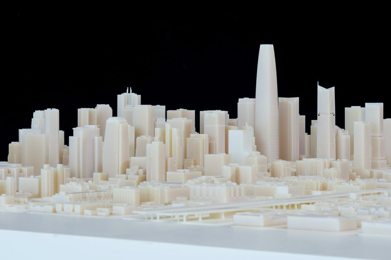 3D Printed San Francisco 2