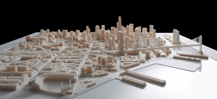 3D Printed San Francisco