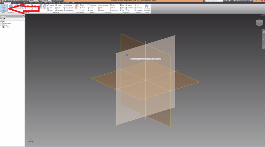 2014-07-08 20_52_54-Autodesk Inventor Work Planes Tutorial - YouTube