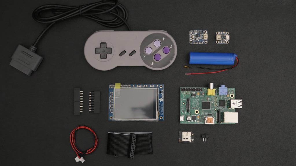 Adafruit 3D Printed Game Boy 2