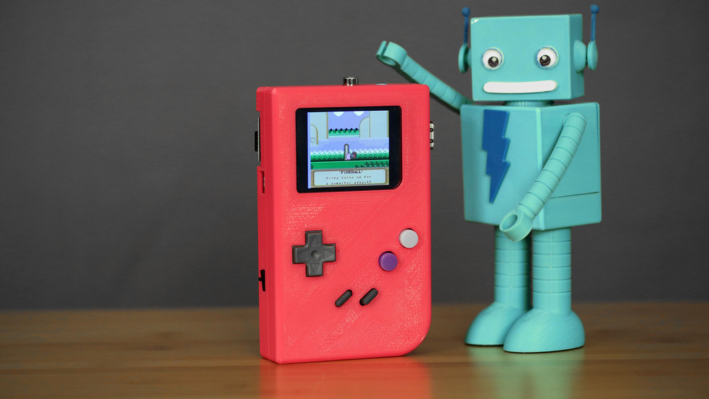 Build a Game Boy with 3D Printing and a Raspberry Pi