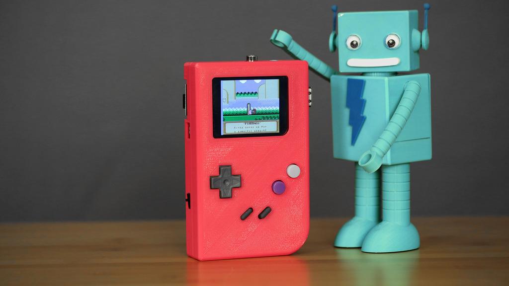 Adafruit 3D Printed Game Boy