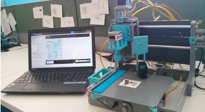 Print Circuit Boards with Squink Circuit 3D Printer