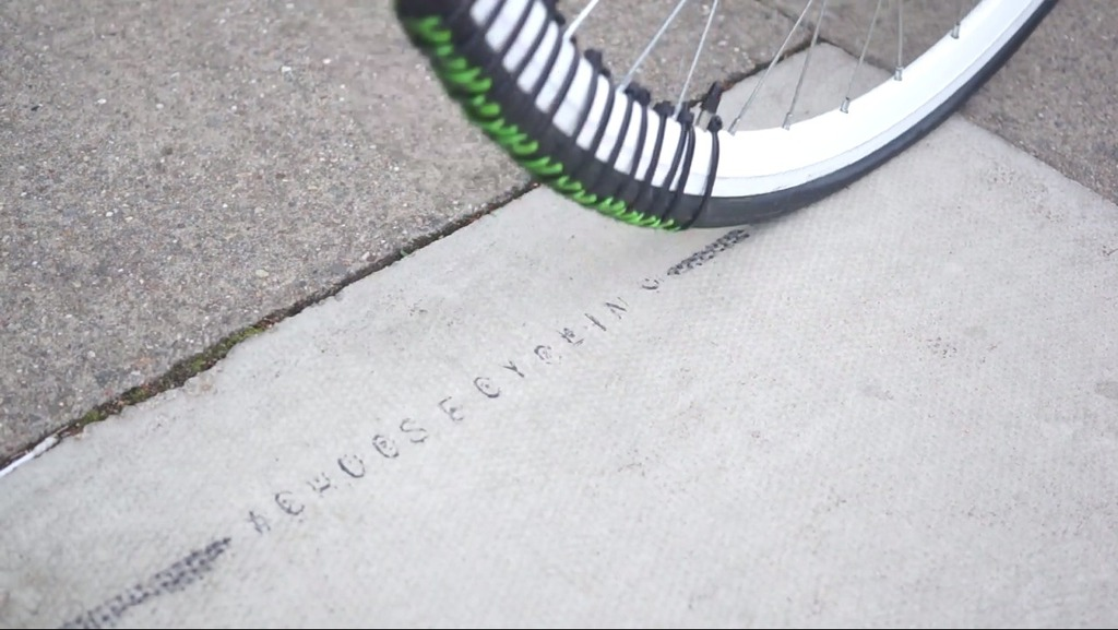 Revolution Turns Your Bike into a Moving Stamp