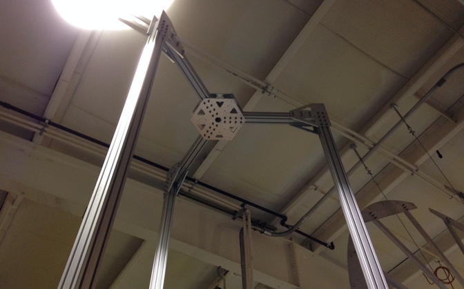 SeeMeCNC 15 foot 3D printer 2