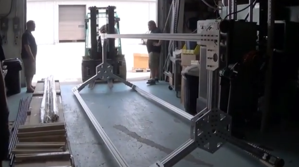 15 Foot Tall Delta 3d Printer Unveiled By Seemecnc 3d