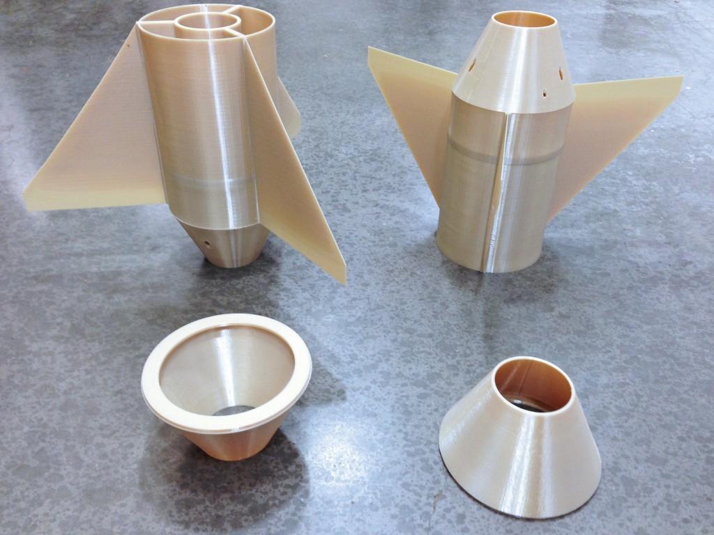 University of Arizon Student 3D Printed Rocket 2