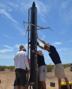 University of Arizon Student 3D Printed Rocket 3