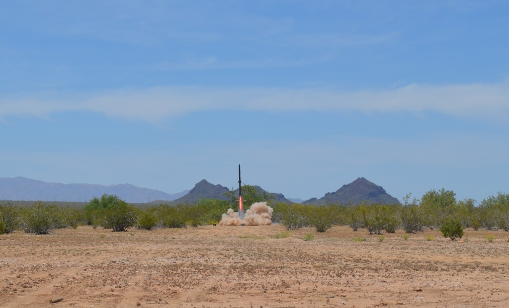 University of Arizon Student 3D Printed Rocket