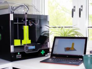 ZYYX 3D Printer Simplifies Printing