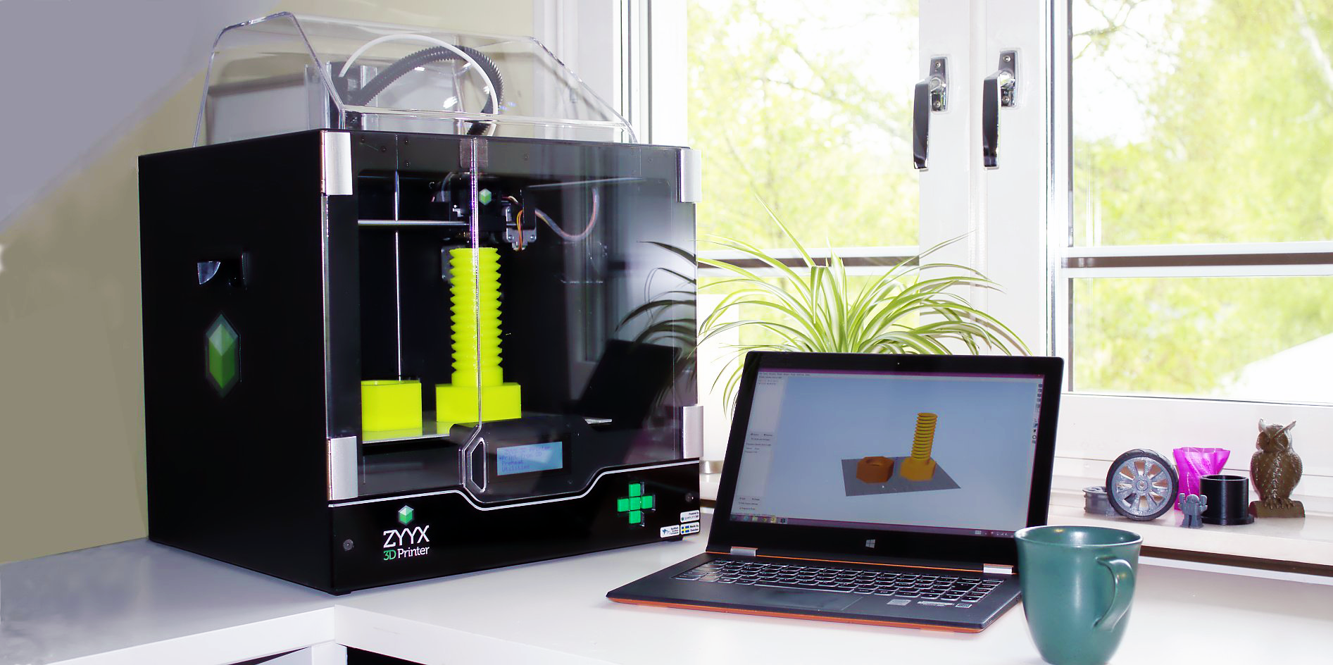 ZYYX 3D Printer Simplifies Printing