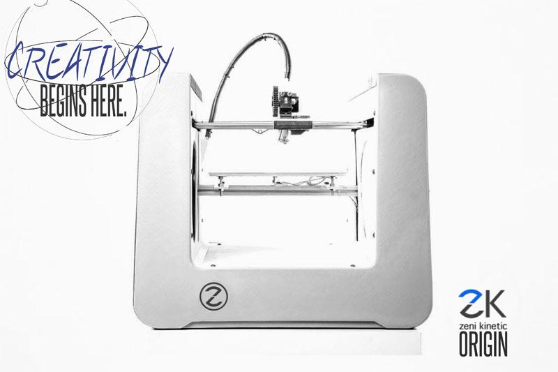 Zeni Kinetic Origin 3D Printers Ready for Pre-order