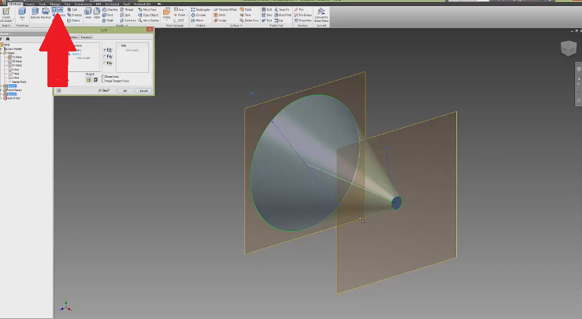 autodesk inventor plane tutorial with Autodesk Inventor Lofting Tutorial on Autodesk Inventor Tutorrial Work Planes together with Conic Curves Siemens Nx additionally Autodesk Inventor Beginners Tutorial Extruding A Simple Cube as well Download Autodesk Inventor Tutorials 421744 furthermore Glass Bracket Part 1 Body Part Seri Tutorial Autodesk Inventor.