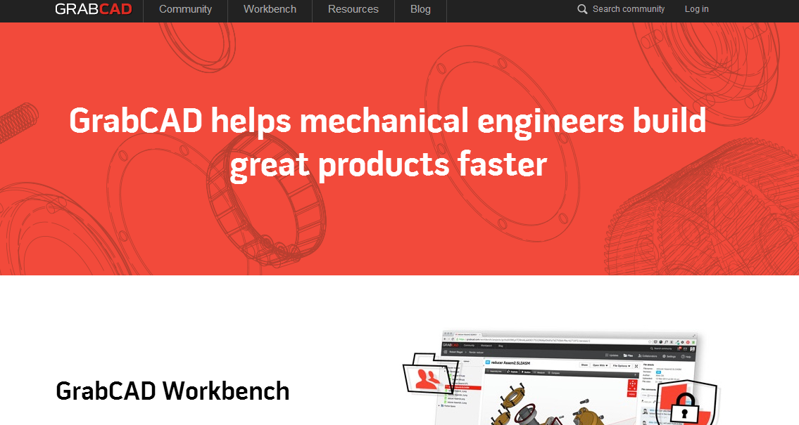 2014-08-21 14_27_46-Free 3D CAD Library and Collaboration Tools for Engineers - GrabCAD