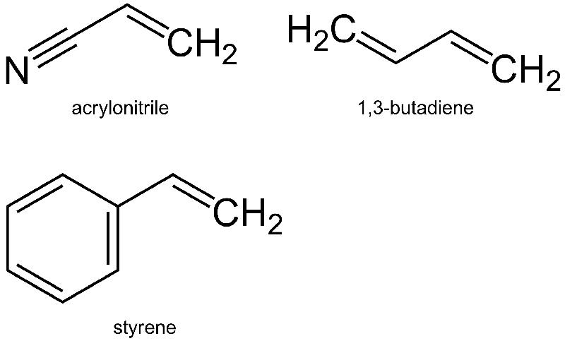 ABS plastic formula