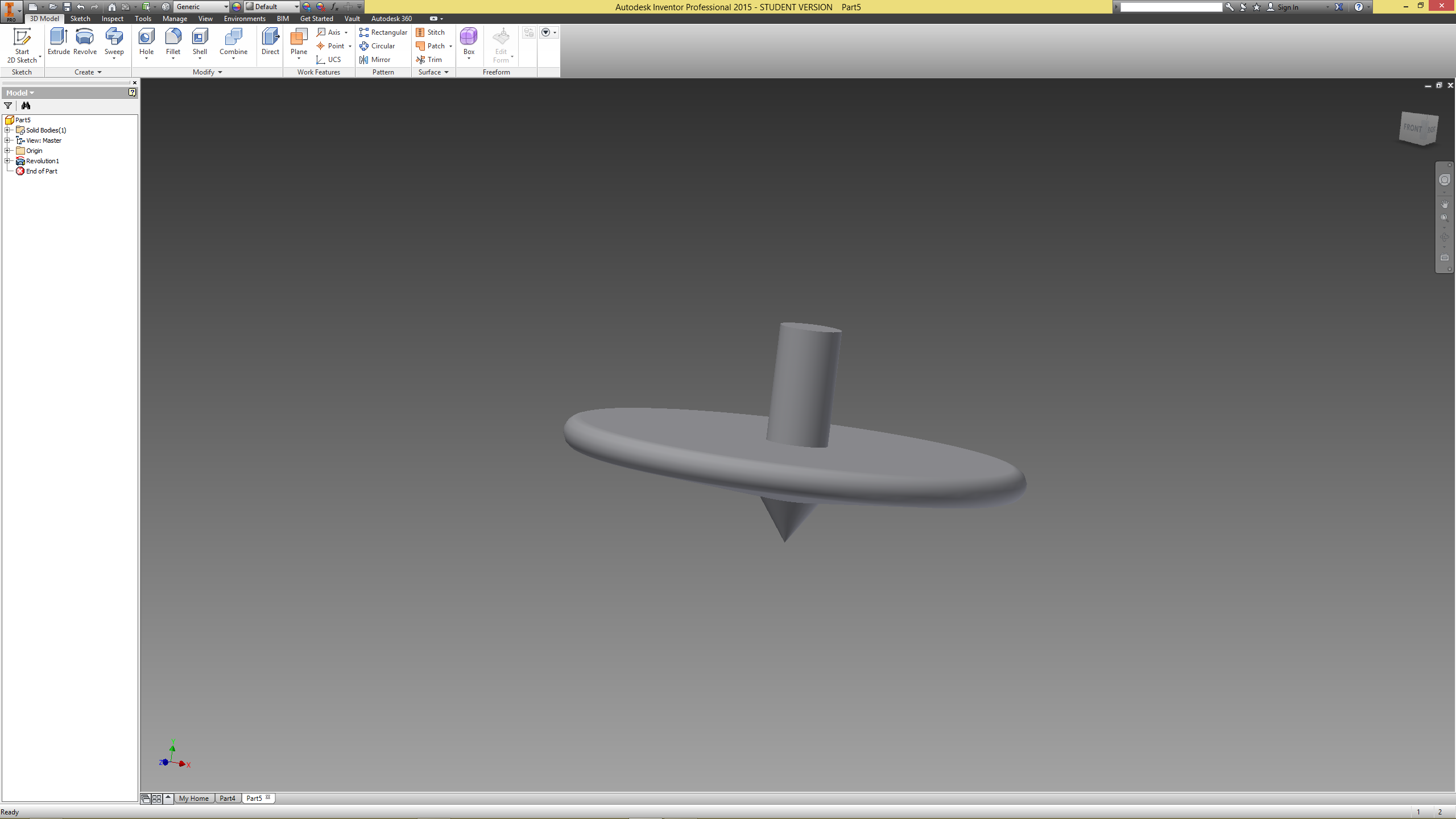 Figure 32 – Finished model