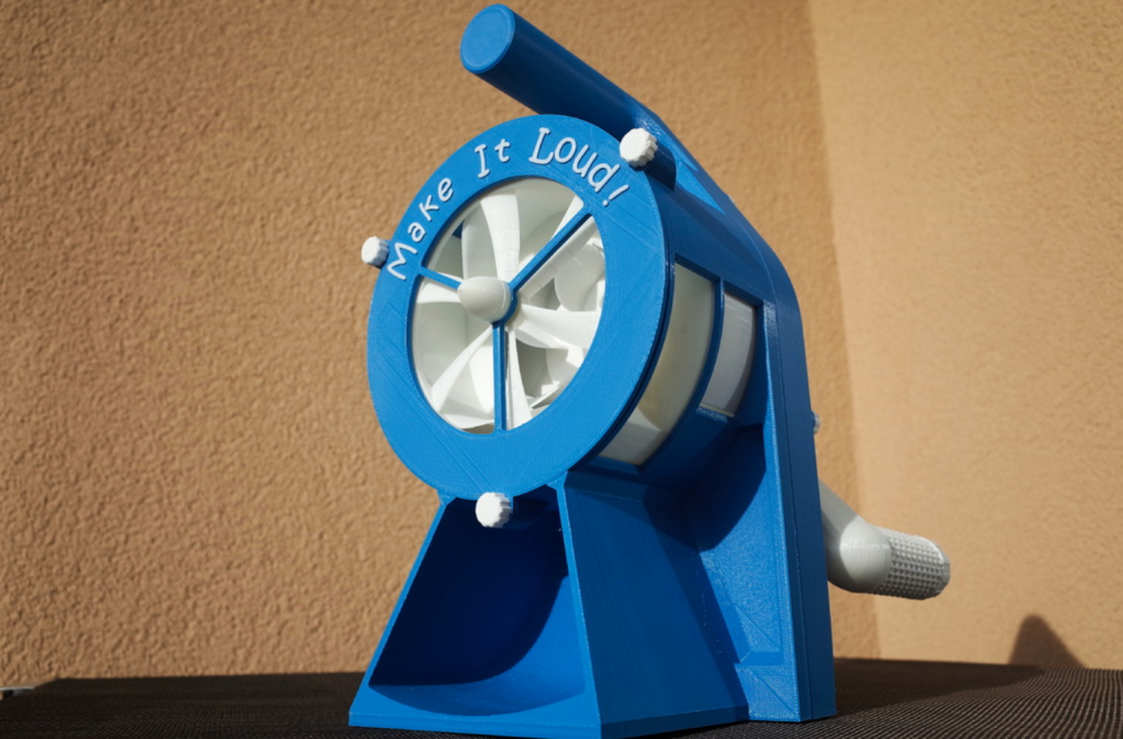 3d printed air raid siren