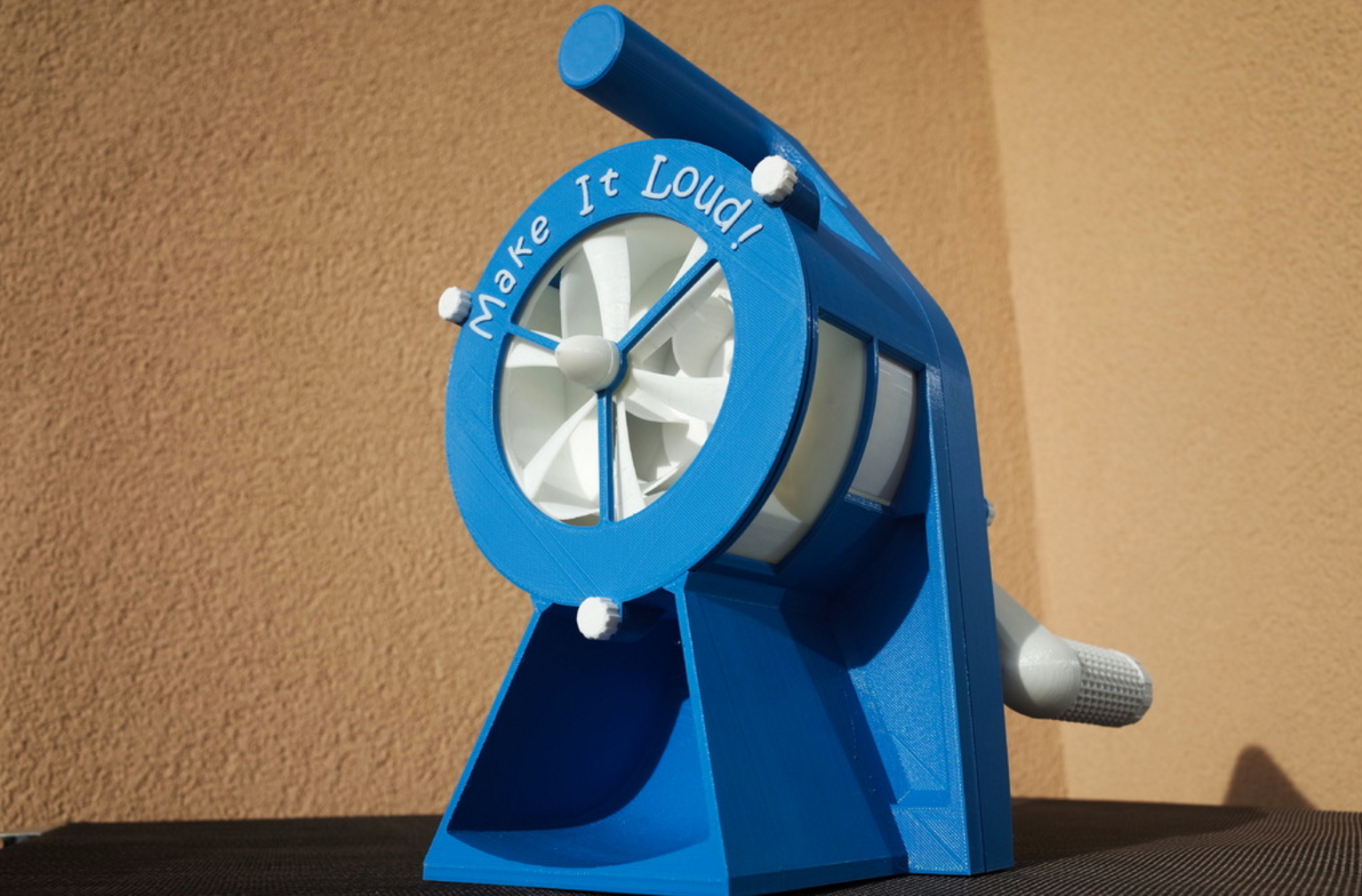3D Print Your Own Air Raid Siren