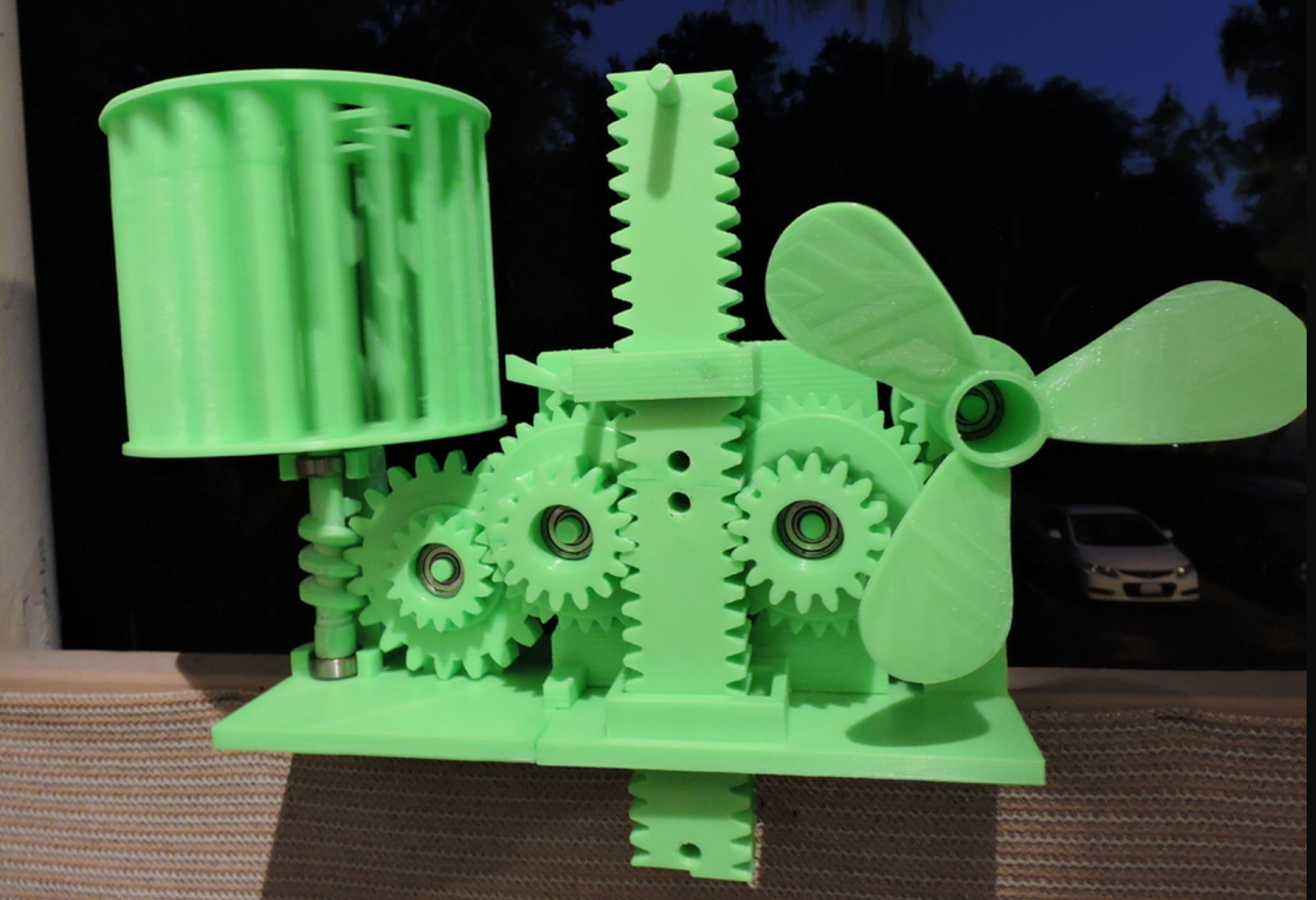 This Cool 3D Printed Project Stores Wind Energy as Gravity