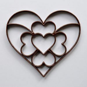 chocolate-3d-heart