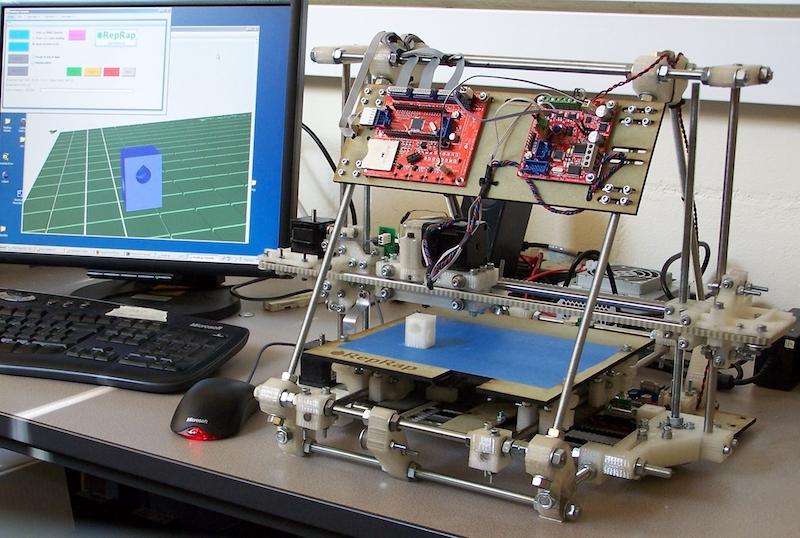reprap-diy-printer