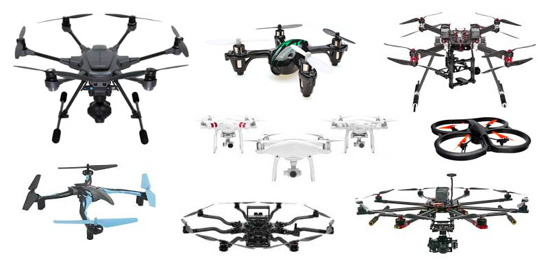 Drone types