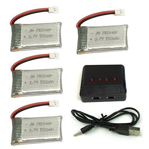 batterij en oplader drone LiPo-batterijen