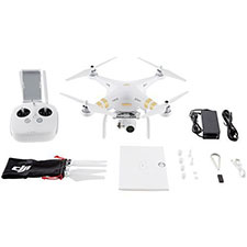 DJI Phantom 3 4K (White/Gold)
