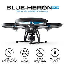Force1 U49W Blue Heron FPV