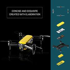 Geniusidea 4K Follow Me Drone