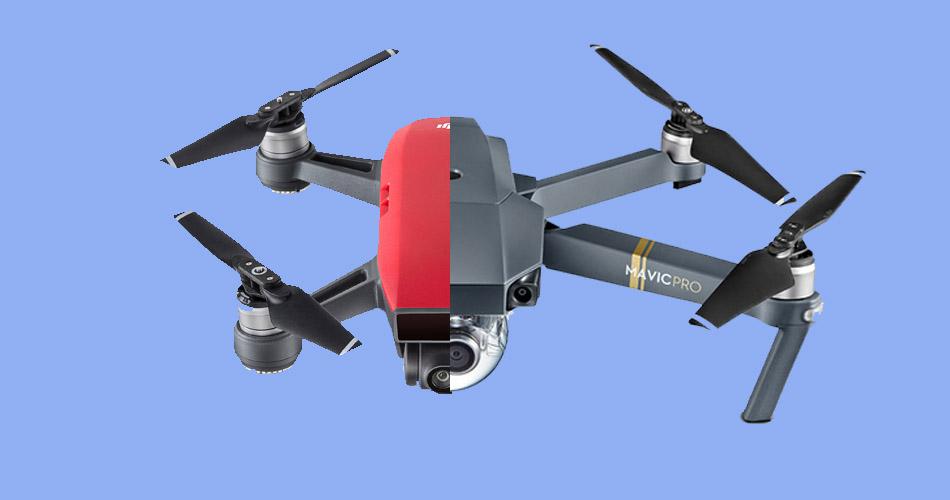 DJI Spark Vs Mavic Pro Best Black Friday Drone