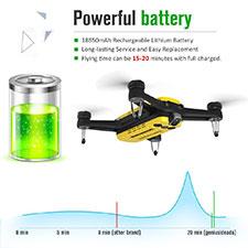 Geniusidea 4K Foldable Follow Drone