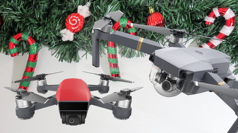 Christmas Drone Deals (DJI Spark, Mavic Pro, and more)