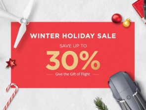 DJI has released coupon codes for winter sale