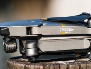 How quiet is the DJI Mavic Pro Platinum?