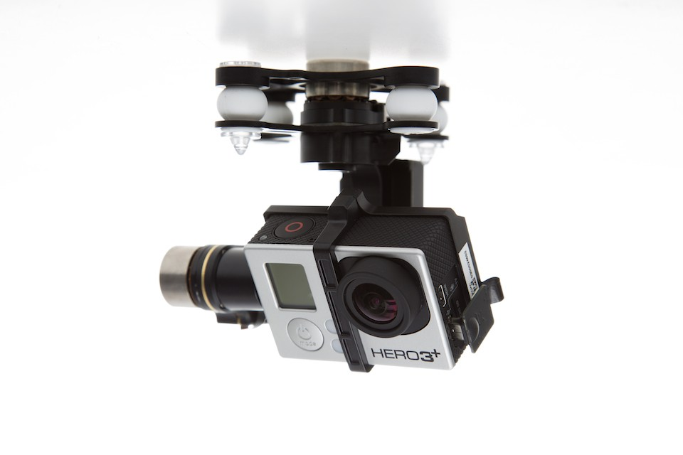 Can I use a GoPro camera with my DJI Phantom?