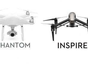 DJI Inspire vs Phantom Series Comparison