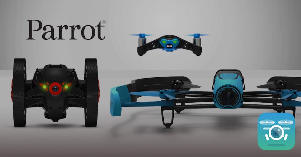 parrot-drones