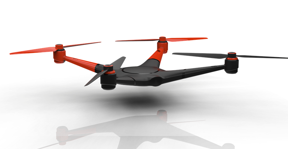 What is a quadcopter?