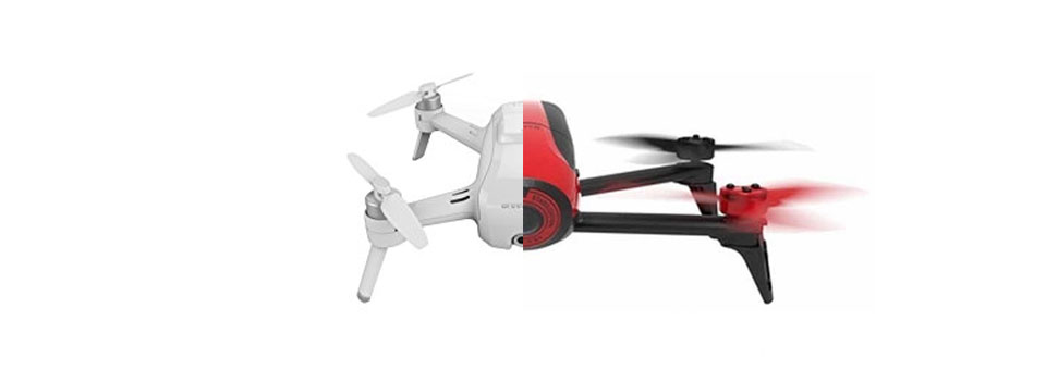 Yuneec Breeze vs Parrot Bebop 2
