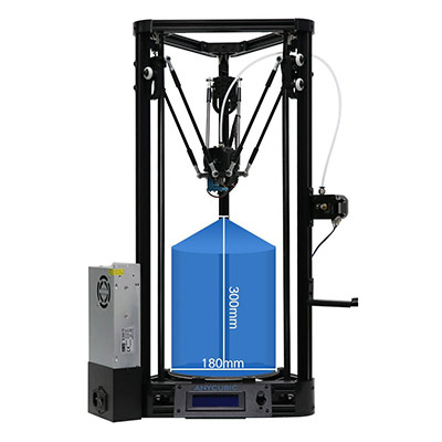 Anycubic Kossel 3D Printer (Pulley)
