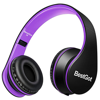 BestGot Wired Headphones with microphone