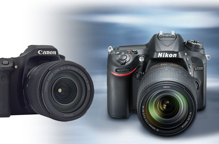 Canon 80D vs Nikon D7200 Camera Comparison