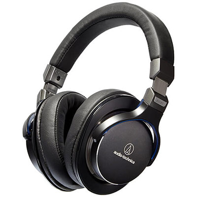Audio-Technica ATH-MSR7BK SonicPro Headphones